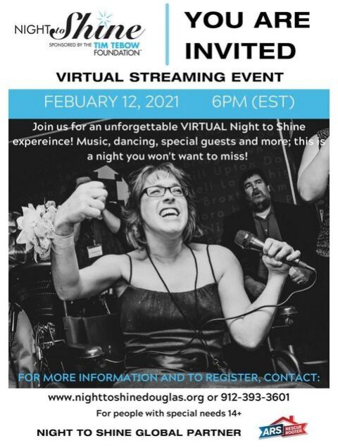 Night to Shine going virtual, FBC and GracePointe to host