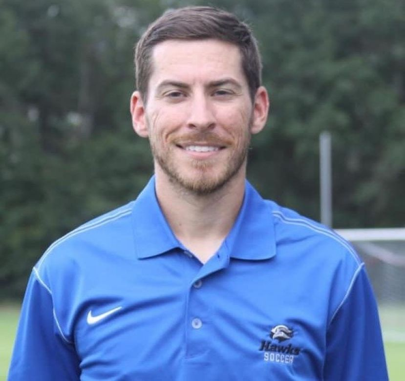 SGSC soccer coach Jacob Crawford