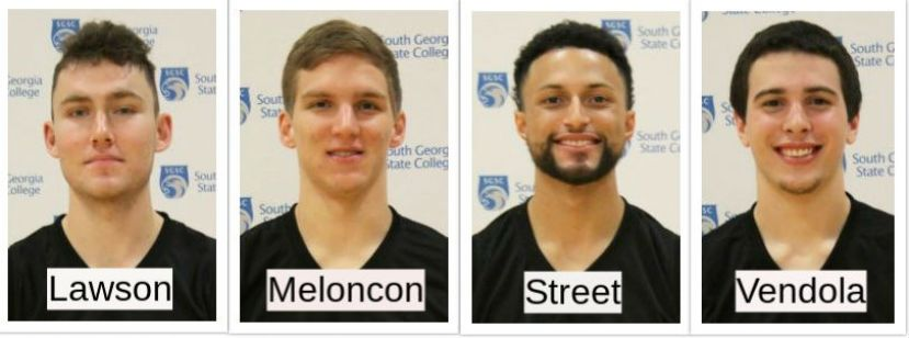 Four Hawks named to All Academic team