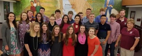 School board recognizes exemplary students at monthly meeting