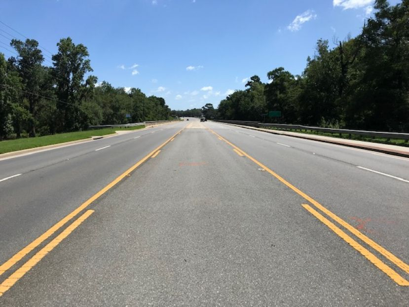 The truck v. bicycle accident that claimed the life of Elester Johnson, 25, of Douglas, happened on this stretch of road along the West Green Highway.