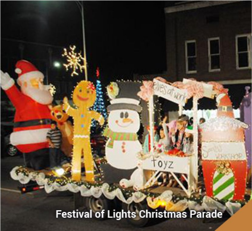 You won't see scenes like this one, from a Christmas parade in previous years, in Douglas in 2020. The city and Chamber of Commerce have decided not to hold the annual Festival of Lights Christmas parade due to COVID-19 concerns.