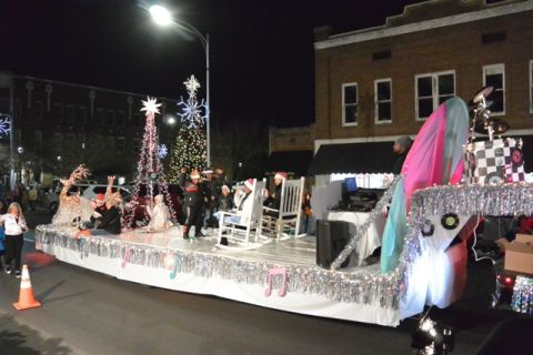Premium Peanut wins overall at Christmas parade