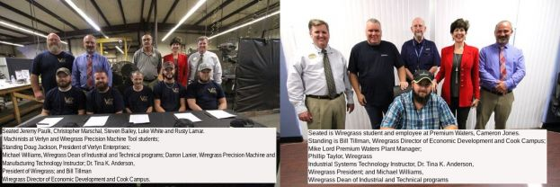 Wiregrass students sign apprenticeship agreements