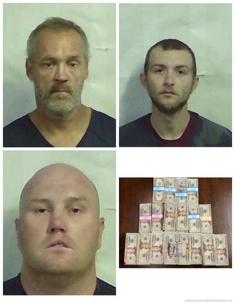 Jeff Davis authorities find drugs, guns, cash in separate investigations