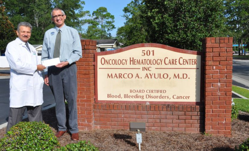 Marco Ayulo and staff support SGSC's Waycross campus