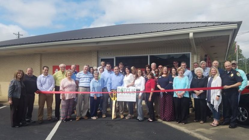 Wilkes family celebrates grand opening of State Farm agency