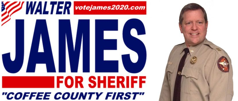 A message from the Walter James for Sheriff campaign