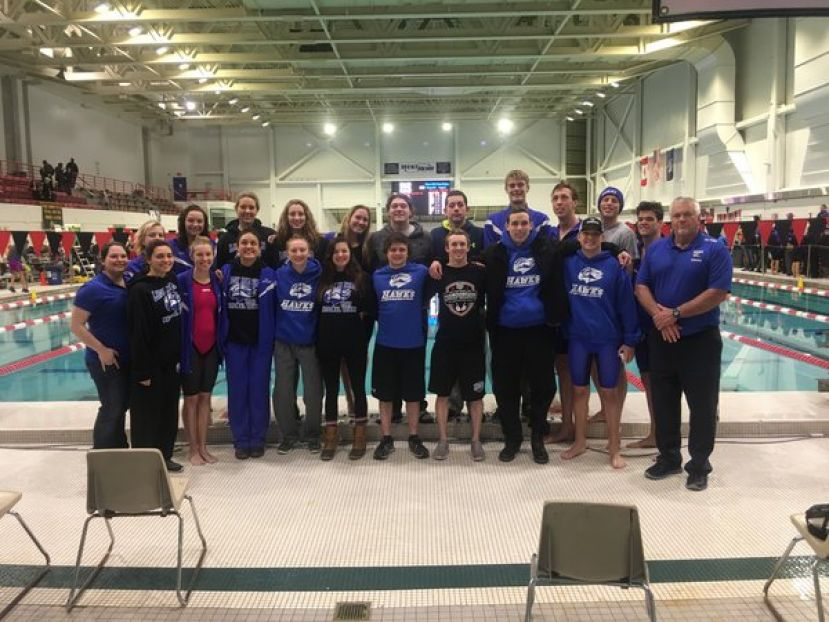 The SGSC swim teams -- the women finished second in the country while the men came in fourth.
