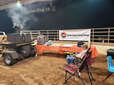 Coffee County Young Farmers place second in Que Fest