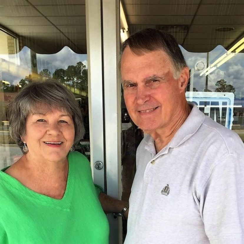 Former board member Gene Wade , pictured with his wife, Jane, defeated Reagan Miller for the District 3 board of education seat by 32 votes.