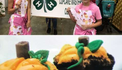 Two Eastside fifth graders take third in cupcake decorating contest