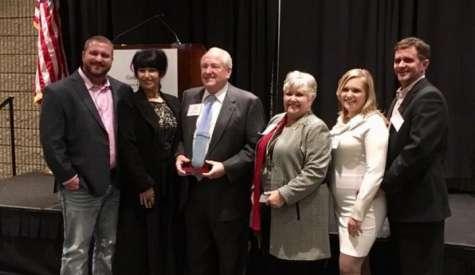 JoAnne Lewis, Luke Morgan receive State Economic Development awards