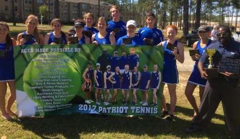CCA tennis dominates at region tournament -- again