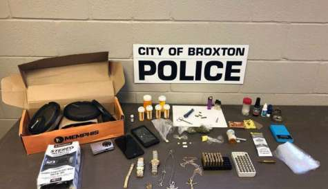 Broxton PD arrests two on drug possession, distribution charges