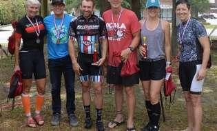 Poulan, Hall win 40 mile bike race in Douglas last Saturday