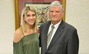 SGSC recognizes Harry Dixon Scholarship recipient