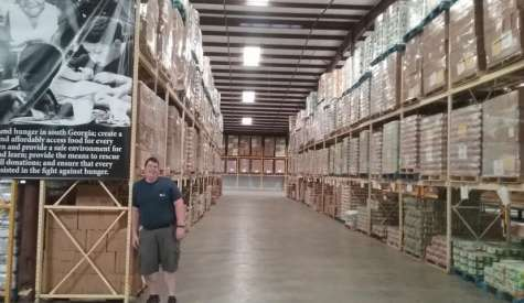 Located on Thompson Drive, Second Harvest quietly meets the nutrition needs of thousands of area residents