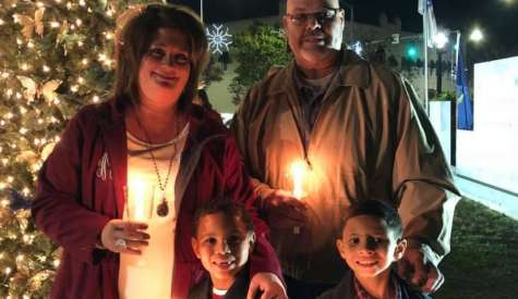 Childhood Cancer Awareness Group lights tree in honor, memory of cancer patients