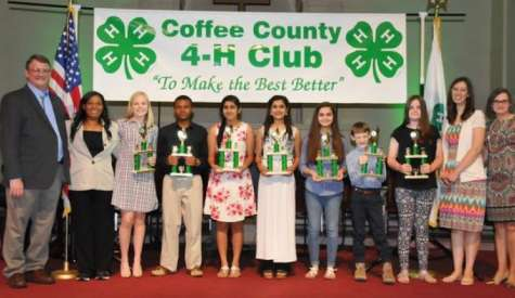 4-H recognizes outstanding students at annual awards ceremony