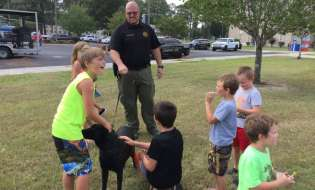 Police, fire and other agencies host National Night Out Against Crime