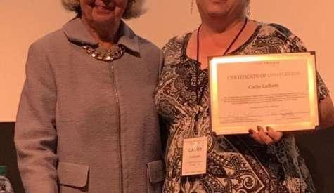 Coffee High teacher receives national certification