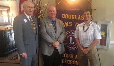 Deputy Attorney General visits Douglas Lions Club