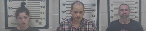 Deputies find stolen trailer and Polaris Ranger, arrest three