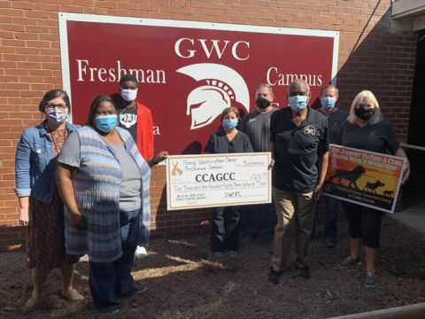 GWCFC raises money for childhood cancer awareness
